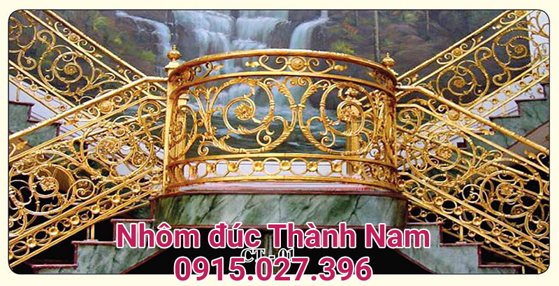Cầu thang nhôm đúc hợp kim cao cấp Thành Nam CT-01