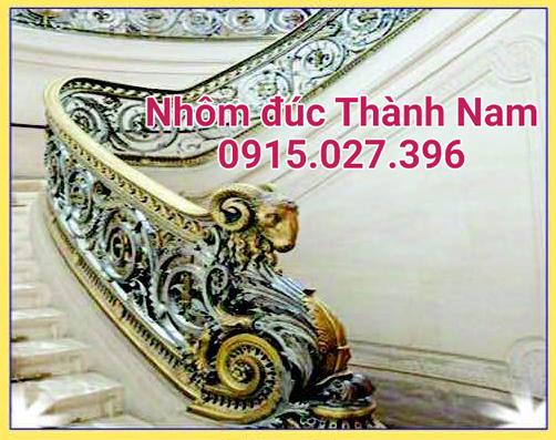 Cầu thang nhôm đúc hợp kim cao cấp Thành Nam CT-14