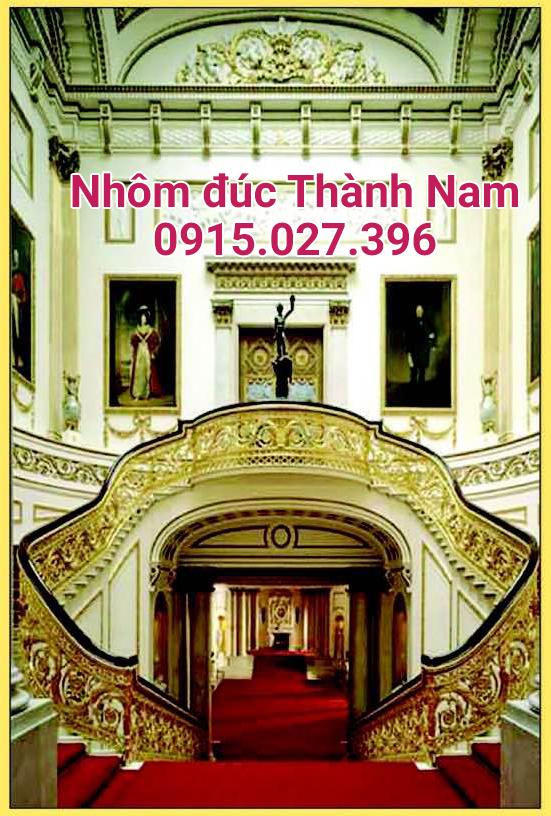 Cầu thang nhôm đúc hợp kim cao cấp Thành Nam CT-12