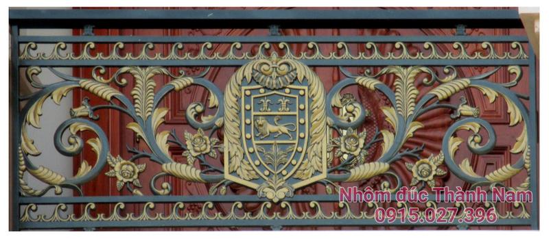 Ban công hợp kim nhôm đúc cao cấp Thành Nam BC10