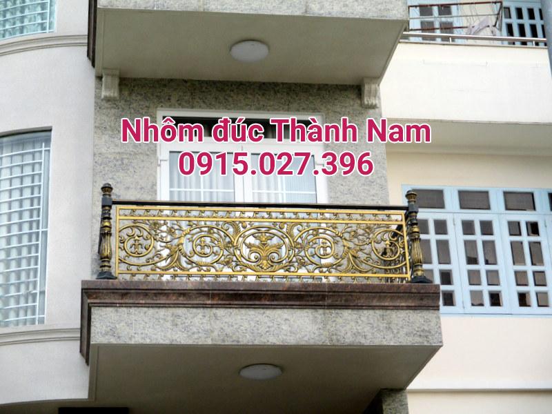 Ban công hợp kim nhôm đúc cao cấp Thành Nam BC11