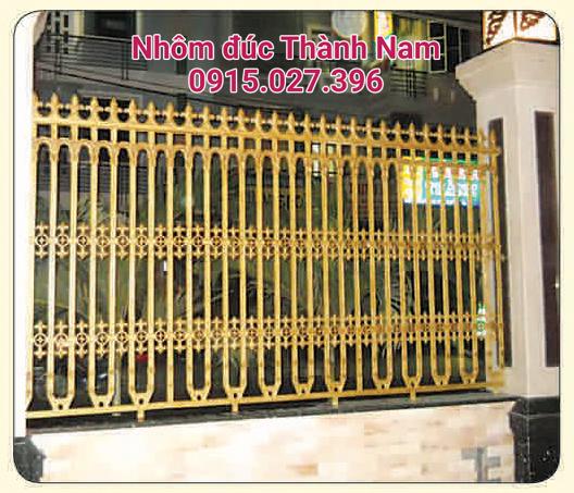 Hàng rào hợp kim nhôm đúc cao cấp Thành Nam RG04