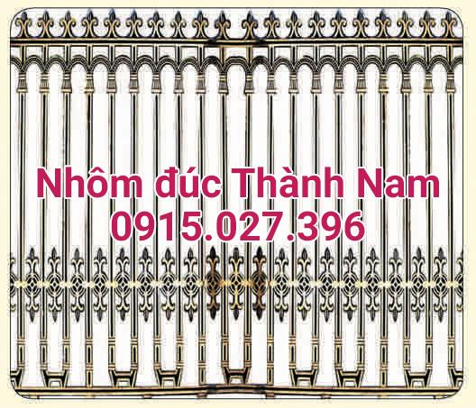Hàng rào hợp kim nhôm đúc cao cấp Thành Nam RG05